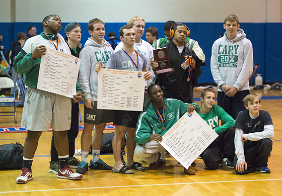 Cary Wrestling Team